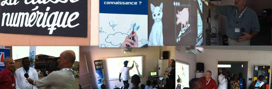 Animation d'une école numérique – Kinshasa
