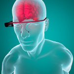 Google glass occhiali interattivi cervello anatomia