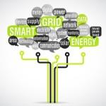 word cloud electronic tree : smart grid (cs5)