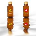 poison remède secours danger dangereux flacon fiole chimie acid